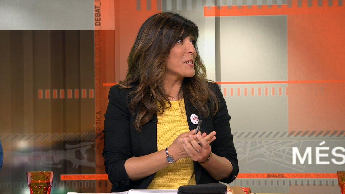 """Rosa Peñafiel (Crida-CUP): """"Avui en dia, a Lleida, una dona en situació de violència masclista no té on anar. Els moviments socials estan fent la tasca que hauria de fer l'Ajuntament de Lleida"""" http://bit.ly/30sPUwf #Més324 #26M"""