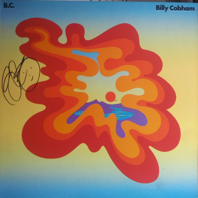 Happy Bday to Billy Cobham Thx for the album.