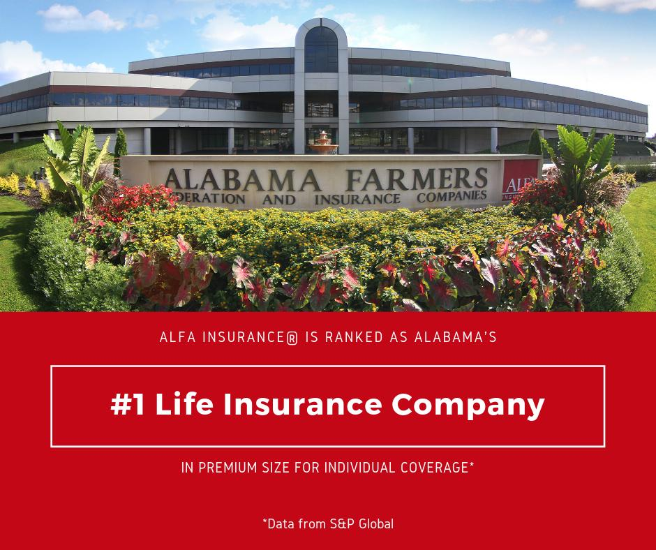 Alfa Insurance On Twitter We Are Pleased To Announce That Alfa Again Ranks 1 As Alabama S Largest Individual Life Insurance Company According To Data From S P Global Our Strength In The Life