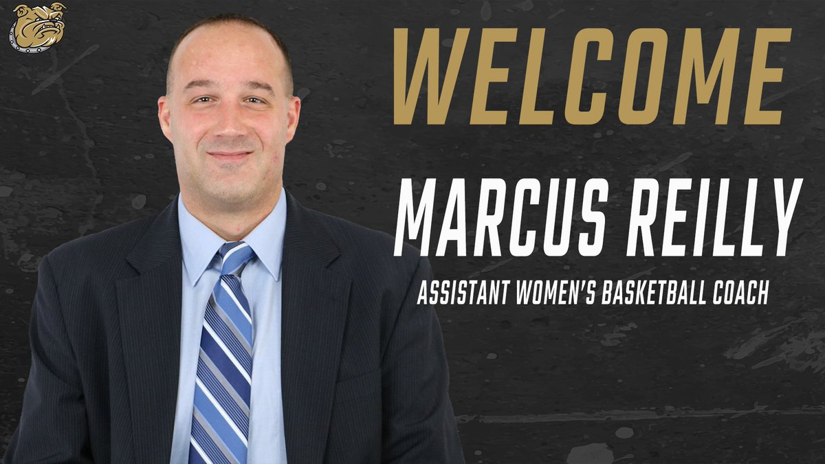 Thrilled to announce Marcus Reilly as our new Assistant Coach!   Welcome to the Bulldog family, Marcus!  📰: http://bit.ly/WBB19_Reilly  #AllHeart | #AllHustle | #GoBryant