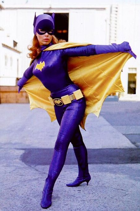 Happy Birthday to the late Yvonne Craig! Yvonne Craig as Batgirl art by Bruce Timm