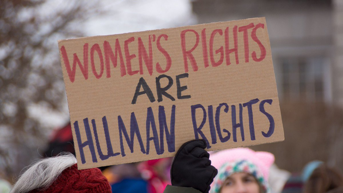 To deny women the right to self determination is an attempt to intimidate, which will not work. Humanity's will to be free will not be stopped by barbaric legislation. #AlabamaSenate <br>http://pic.twitter.com/aFbpcVzxy5