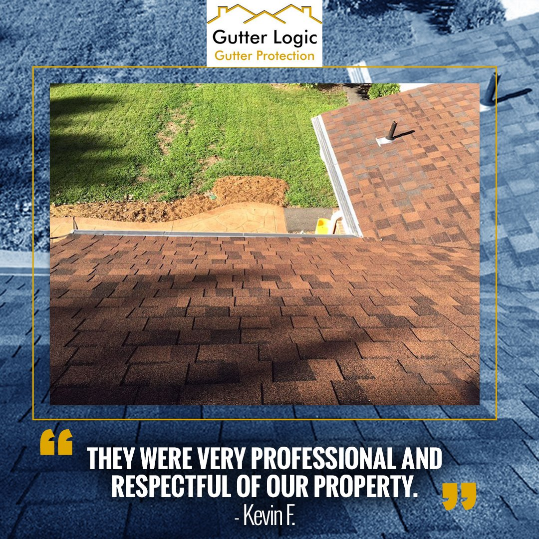 Thank you, Kevin! We are always professional and respectful when working with our clients. We hope youre enjoying your new gutter protection system! gutterlogic.com