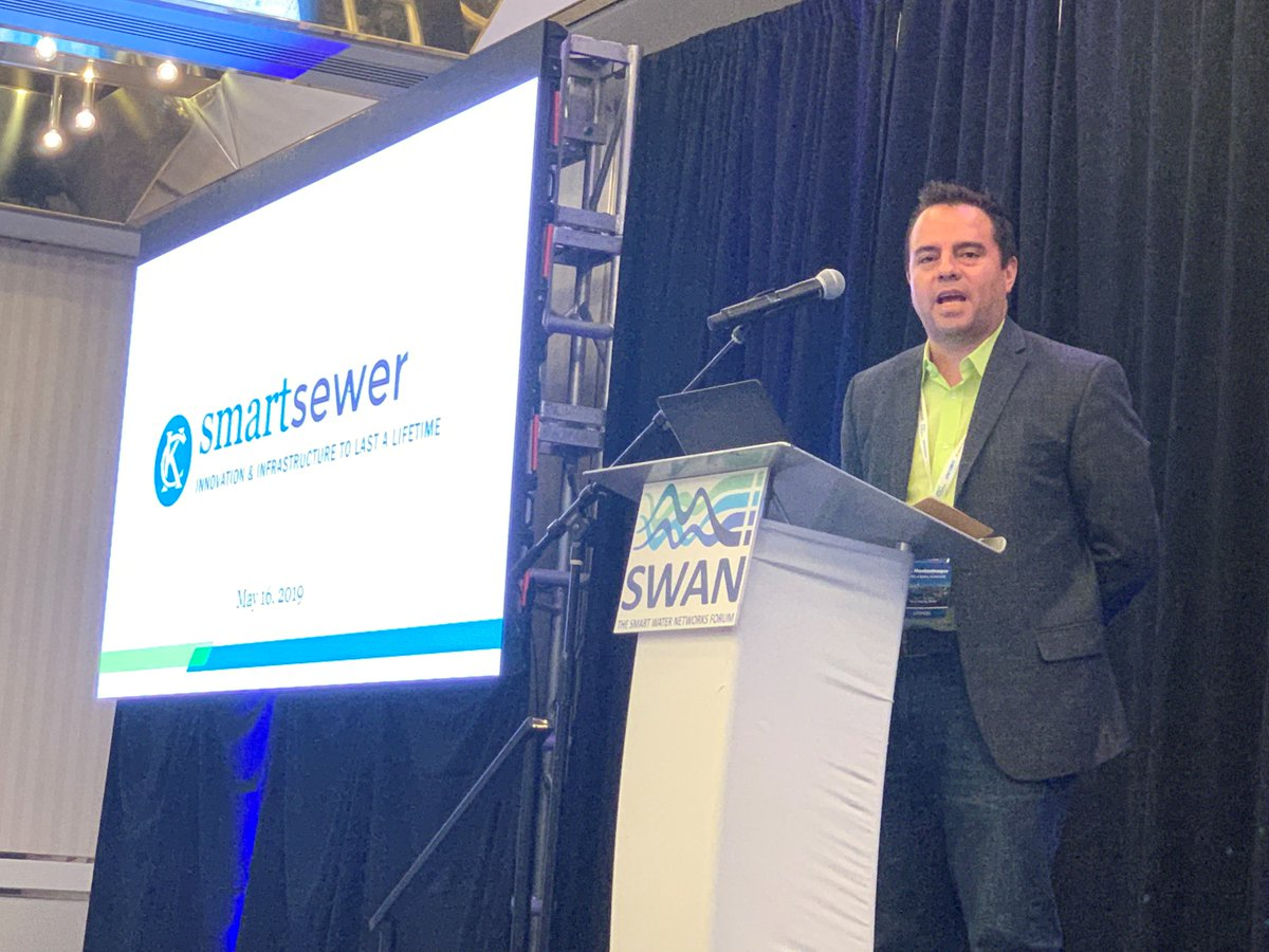 .@LMontest, President and CTO of #Emnet, a Xylem brand, discusses Kansas City's smart sewer initiative, which has exceeded its goal of saving $1bn by ...