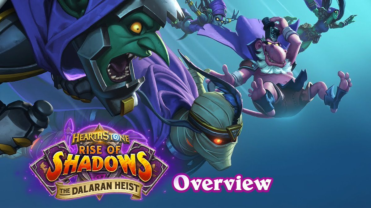 It's time to enact the greatest scheme ever devised and steal the entire city of Dalaran! Chapters 1+2 of The Dalaran Heist are now live. 😈 blizz.ly/2LPctI1