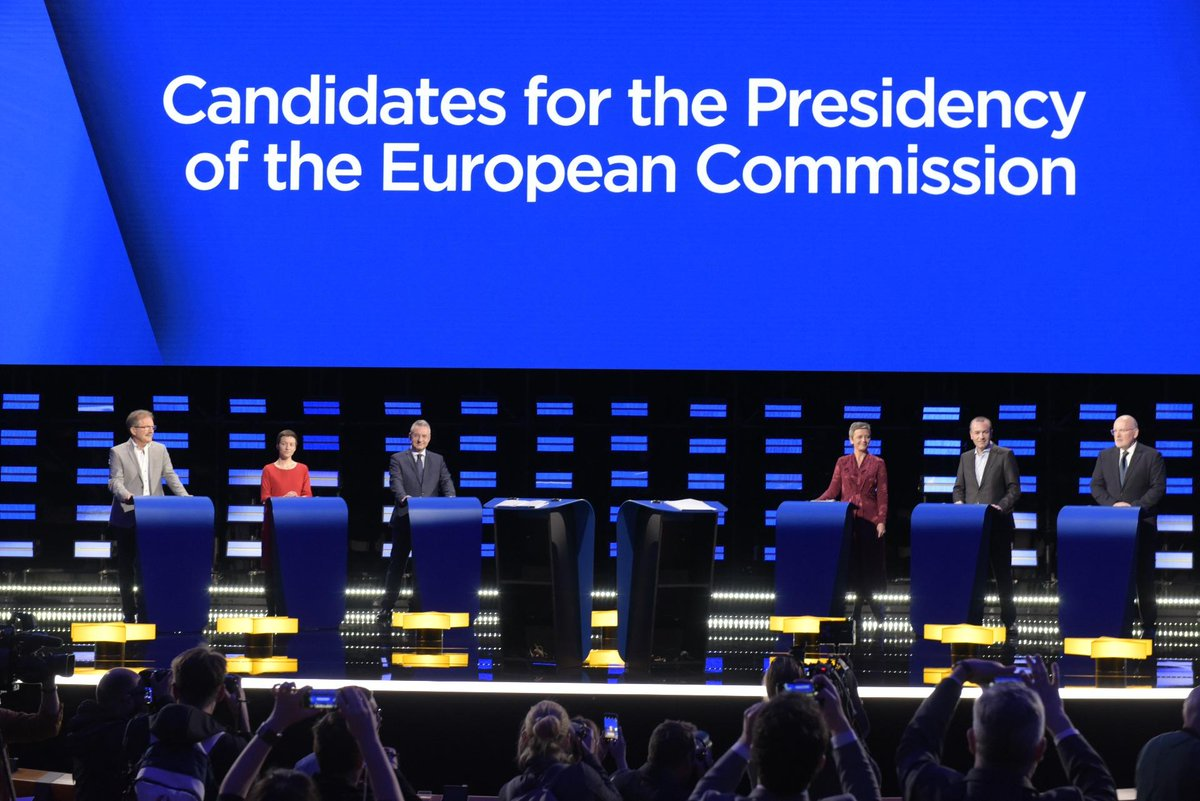 Thank you for your overwhelming participation in last nights #EurovisionDebate. We hope that it's helped inform your decision on which way to vote during the #EUElections2019! #ThisTimeImVoting #TellEurope