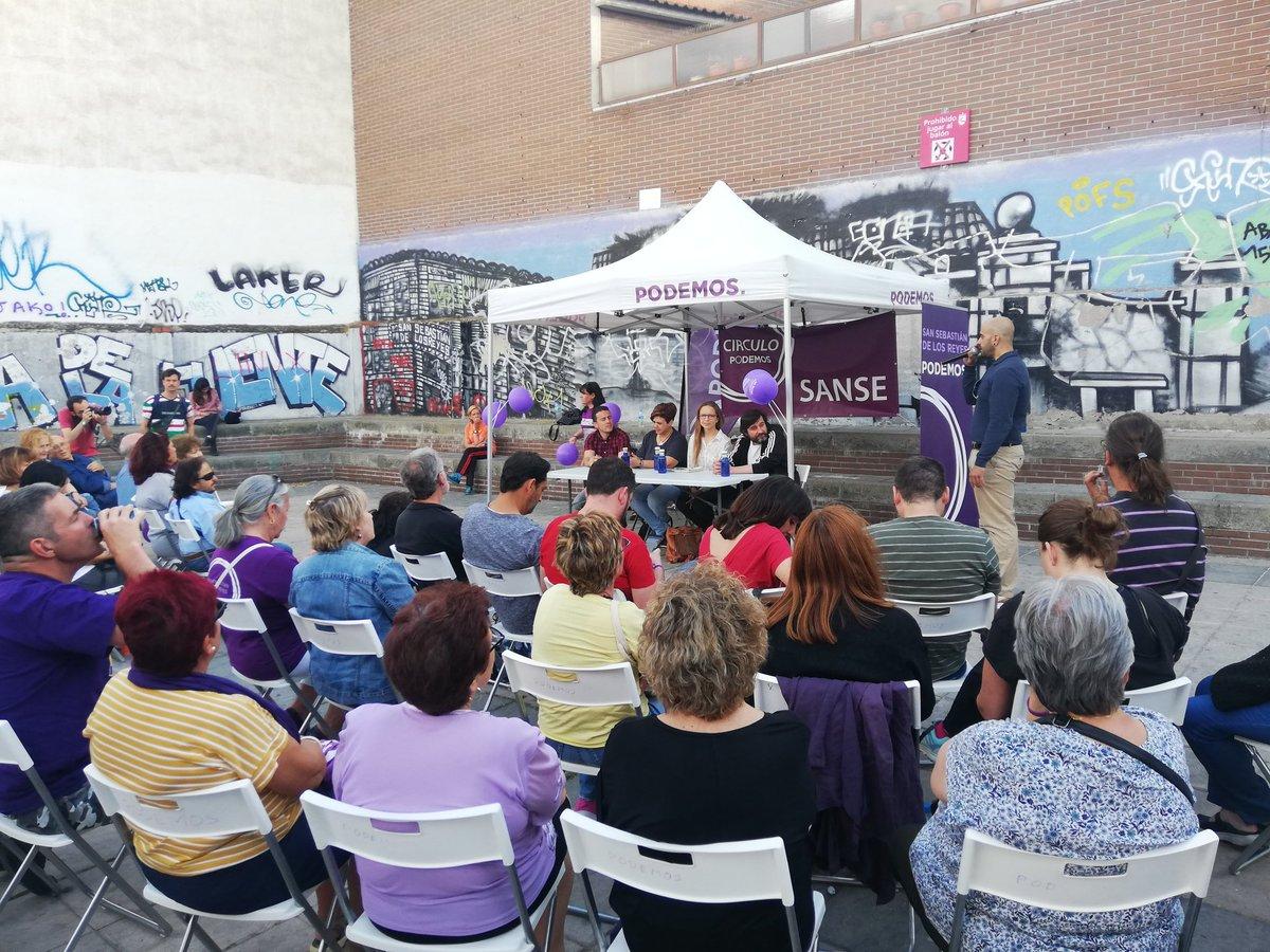 Foto cedida por Podemos SanSe