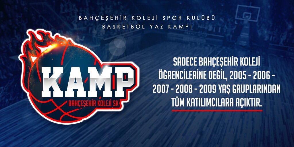 Bahçeşehir Koleji Spor Kulübü Performans ve Gelişim Kampı başvuruları devam ediyor. 15-19 Haziran , 20-24 Haziran tarihlerinde Antalya Gloria Sports Arena'da düzenlenecek olan kampımıza 2️⃣0️⃣0️⃣4️⃣'lü erkek ve kız sporcularda katılabilirler. Başvuru için: http://www.bahcesehirsporkulubu.org