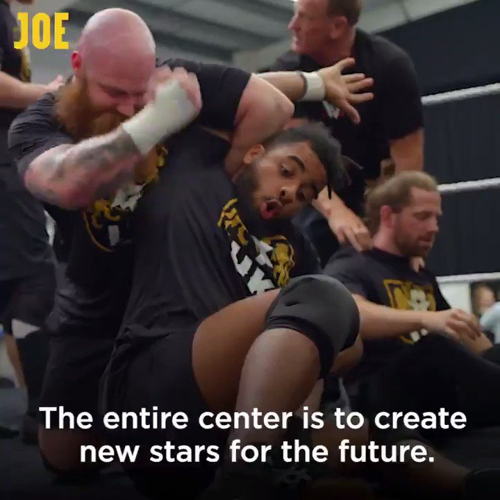 We went inside the secret @WWE performance center to see how top superstars train.