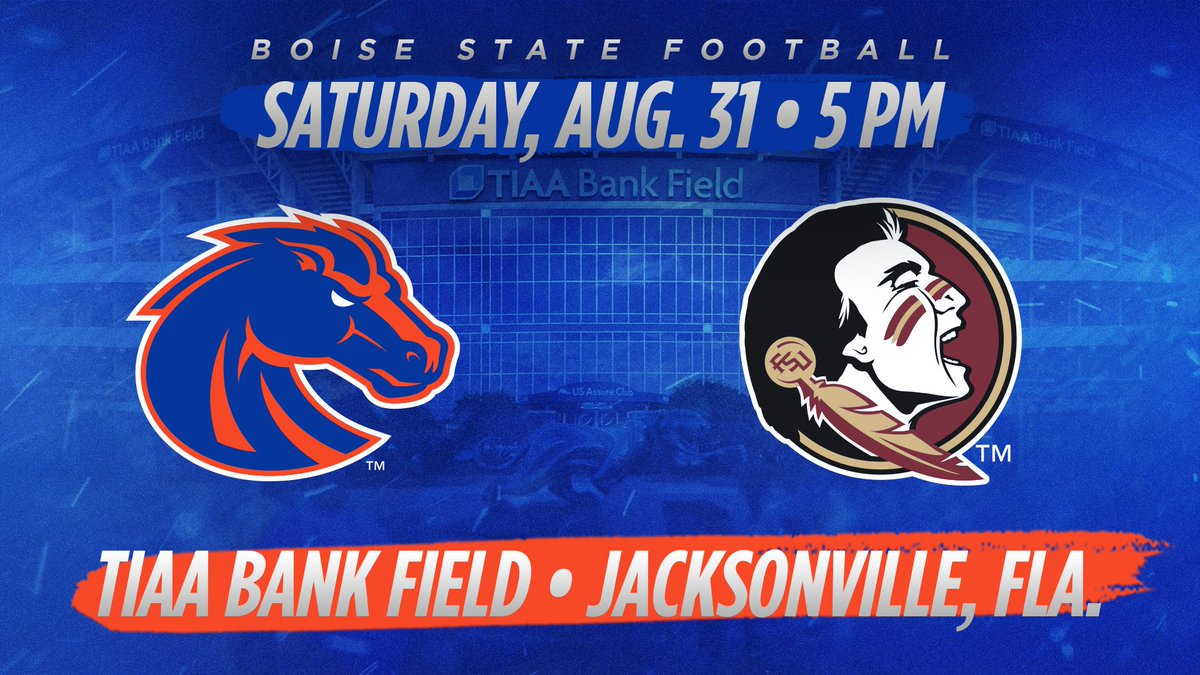 We knew who and where we were playing our 2019 opener. Now we know when (7 p.m. ET/5 p.m. MT). See you in Jacksonville Bronco Nation! #BleedBlue<br>http://pic.twitter.com/010IbShI72
