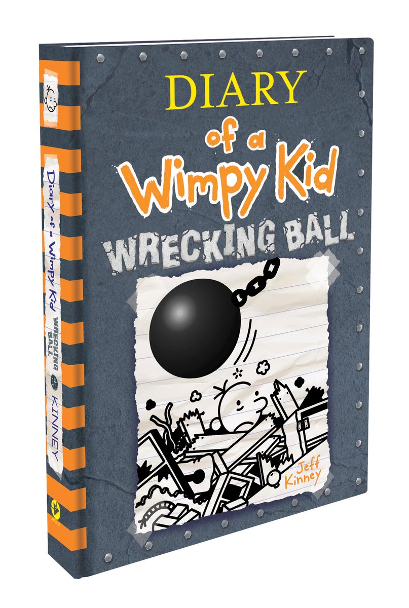 I can not wait to buy the Diary of a Wimpy Kid #14 book for my daughter! She loves the series!! AD @wimpykid Here is the book cover and you can buy on amazon here: https://www.amazon.com/Wrecking-Ball-Diary-Wimpy-Book/dp/1419739034/ref=sr_1_1?keywords=diary+of+a+wimpy+kid+14&qid=1557953042&s=gateway&sr=8-1…