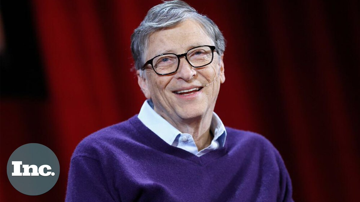 RT @Inc: Here are 5 things Bill Gates says you should do to be successful. https://t.co/hsni42yb5V