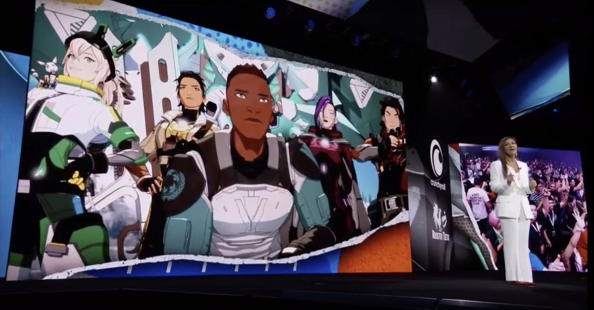 """Wow, guess they don't call it the """"upfronts"""" for nuthin'. Here's #genLOCK front-and-center at the big WarnerMedia to-do yesterday in NY. Was it as cool as Shaq's musical number? Only time will tell..."""