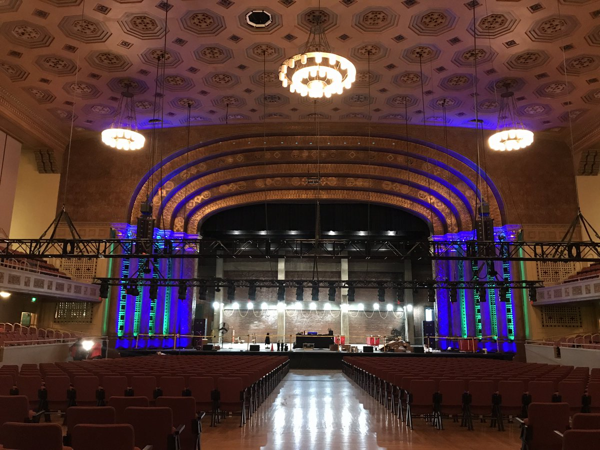 Sacramento's historic Memorial Auditorium is getting final touches before re-opening after an 11-month, $16.2 million renovation! Its first event is a graduation this Saturday. @ABC10 got a tour today, we'll show you around on the #LateNewsTonight at 11 p.m.! – at Memorial Auditorium