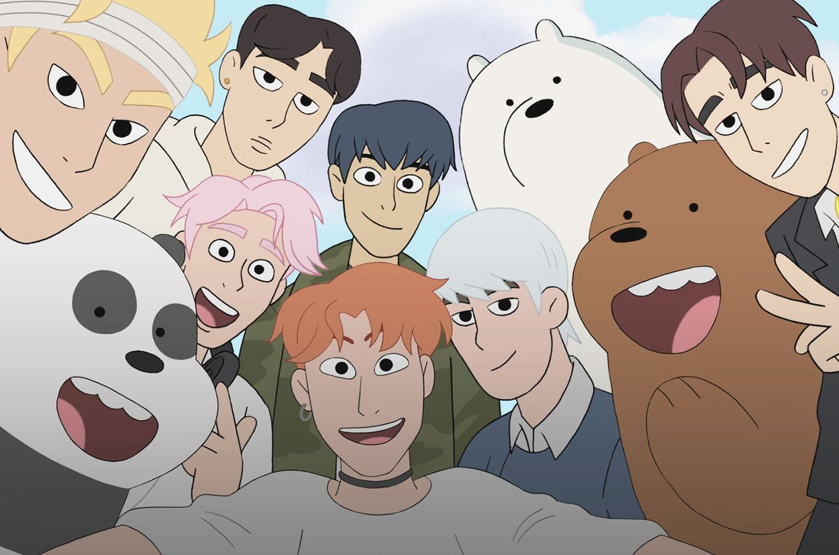 So you&#39;re telling MY Monbebe heart that MONSTA X is gonna be on We Bare Bears on May 27??? <br>http://pic.twitter.com/NgmtBMgjK9