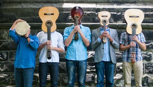 """Tio Chorinho performs Brazilian choro music in the tradition of the great Jewish mandolin master Jacob do Bandolim, who was a major figure in the development of what many consider to be """"The New Orleans Jazz of Brazil."""" @JxJFest Sunday, May 19, 7:00 PM, @CityWineryDC https://t.co/d2qoHYwzS3"""