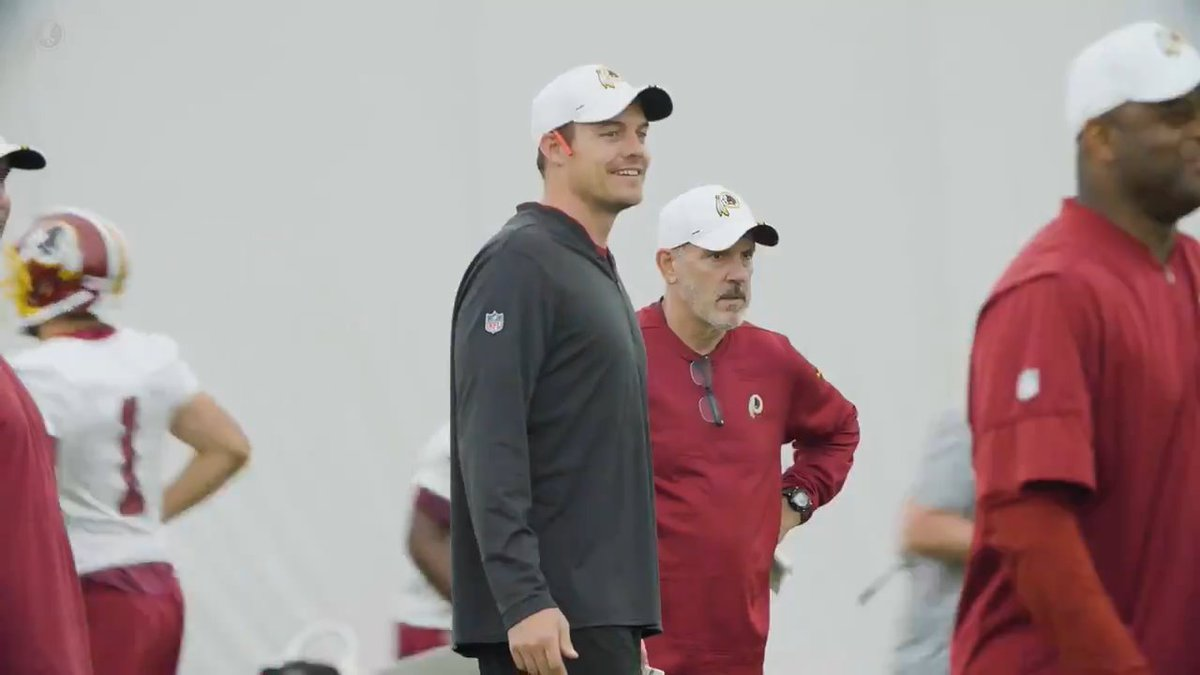 Whats it like working with a first-round QB? Wired up with OC Kevin OConnell: redsk.in/2LMQYYr