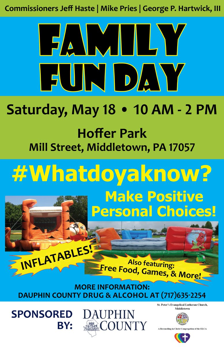 Happening Saturday: Family Fun Day in Middletown that's focused on drug and alcohol prevention and education
