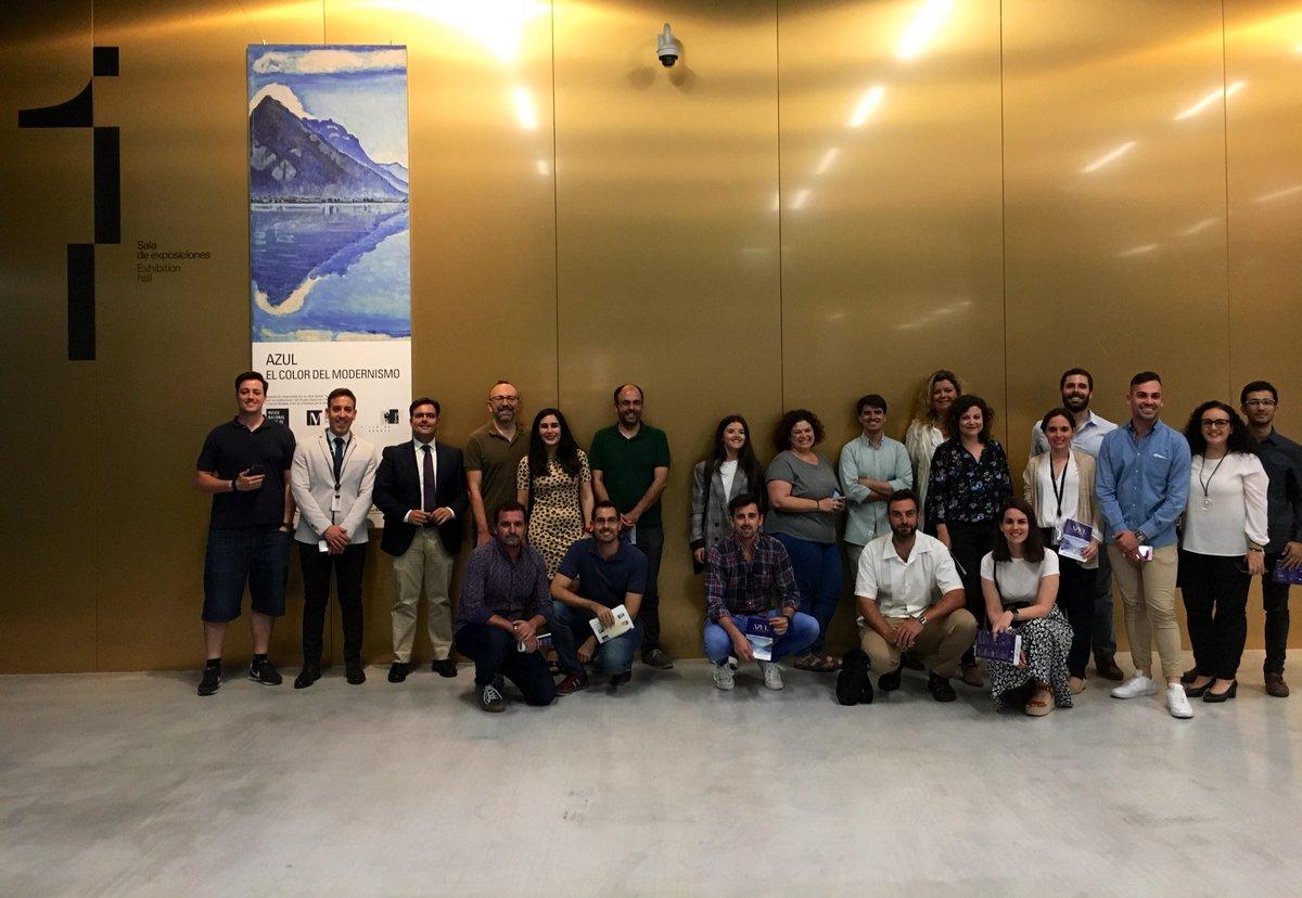 Descubre todos los azules del azul en #ModernismoCaixaForum en #CaixaForum #Sevilla, hasta el 25 de agosto. ¡Muchas gracias a todos por uniros a esta visita!
