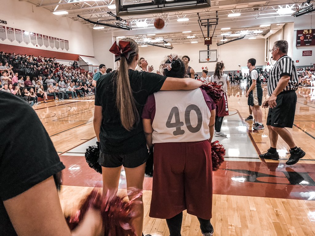 This is what it's all about ♥️🏀 #choosetoinclude