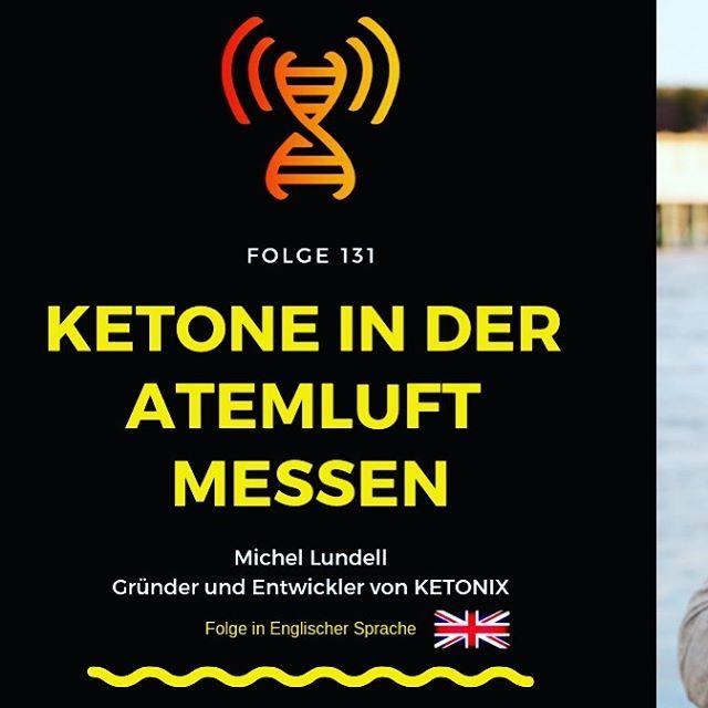 Ketone in der Atemluft Messen - Interview mit Ketonix Gründer Michel Lundell (Englisch) » Evolution Radio Show Folge 131   jetzt auch im Blog (Link im Profil) #keto #ketomessen #ketonix #ketogeneernährung