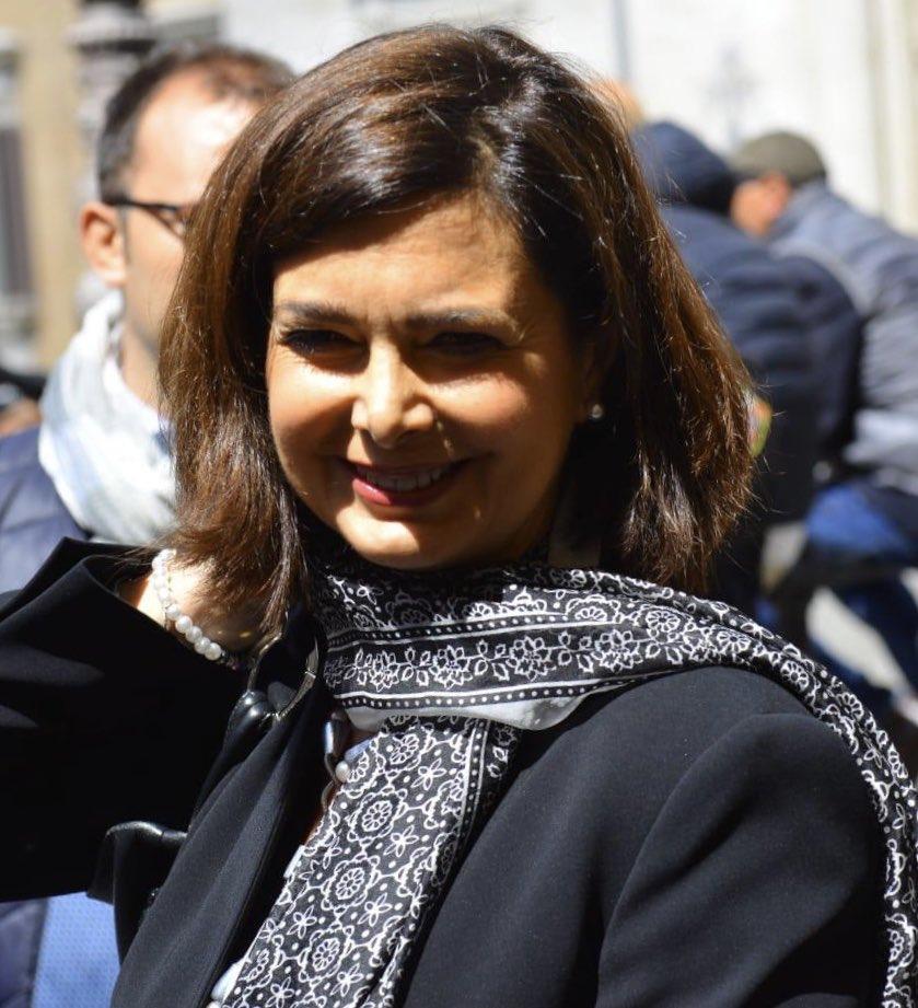 laura boldrini's photo on #piazzapulita