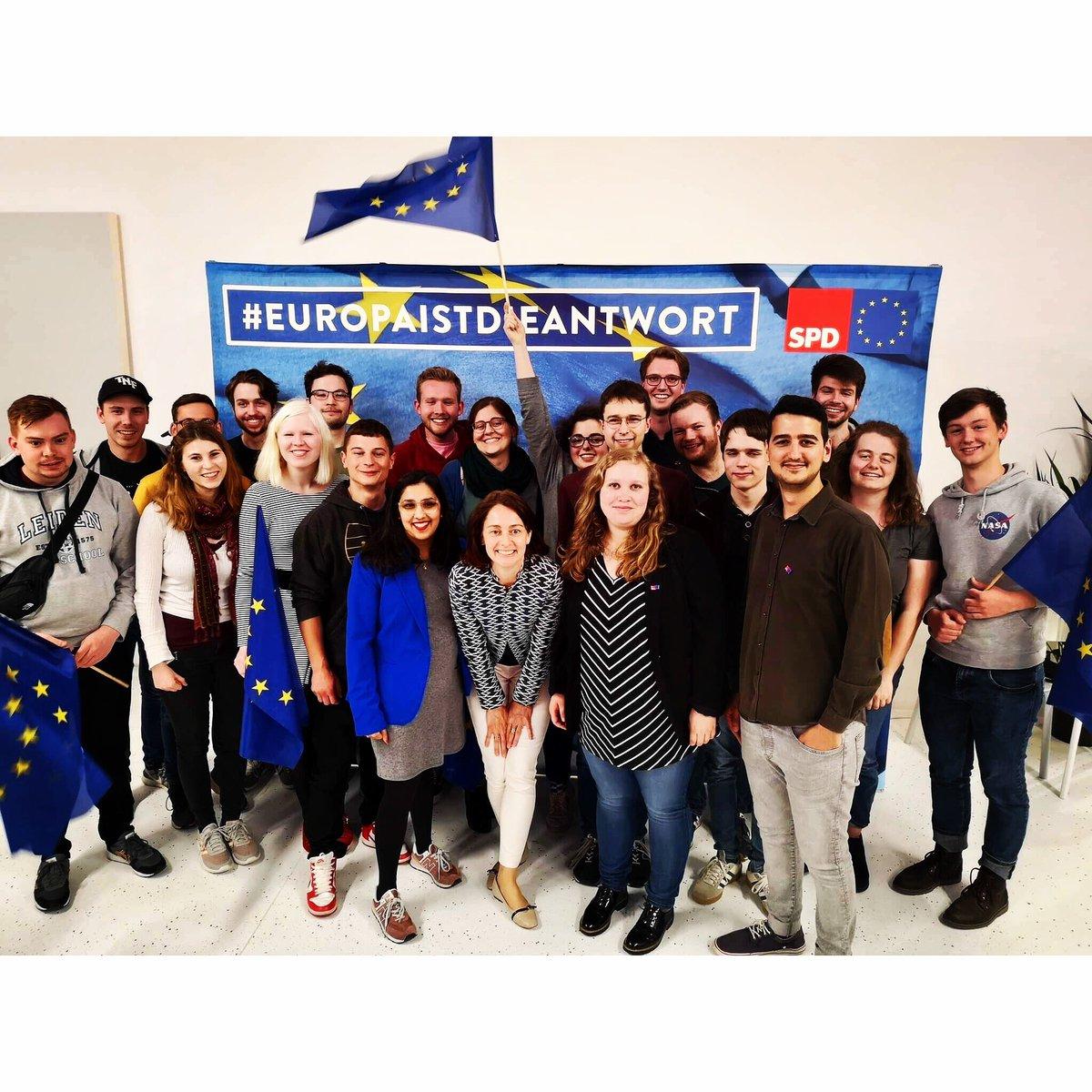 Die Jugend, die Europa verändern wird!  💪🏽 https://t.co/eo8tKwz1O7