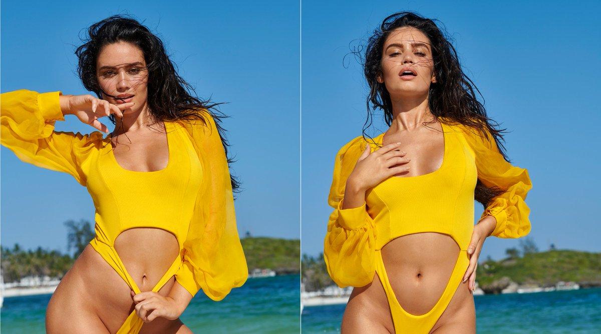 RT @SI_Swimsuit: Yellow is definitely Anne de Paula's color! 💛 https://t.co/hbFUzpYkax https://t.co/eRsaNkFbKr