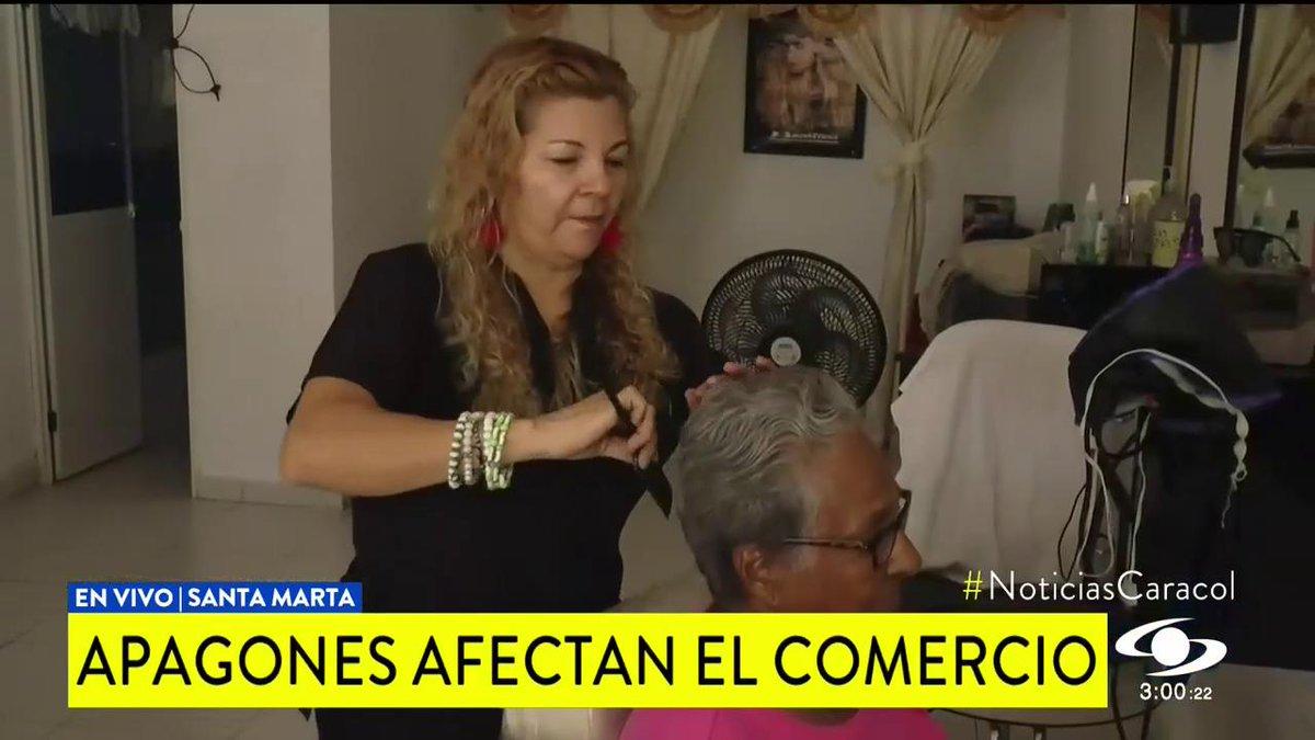 """""""Por eso estamos perdiendo clientes"""": apagones en Santa Marta afectan a comerciantes http://noticiascaracol.com/caribe"""