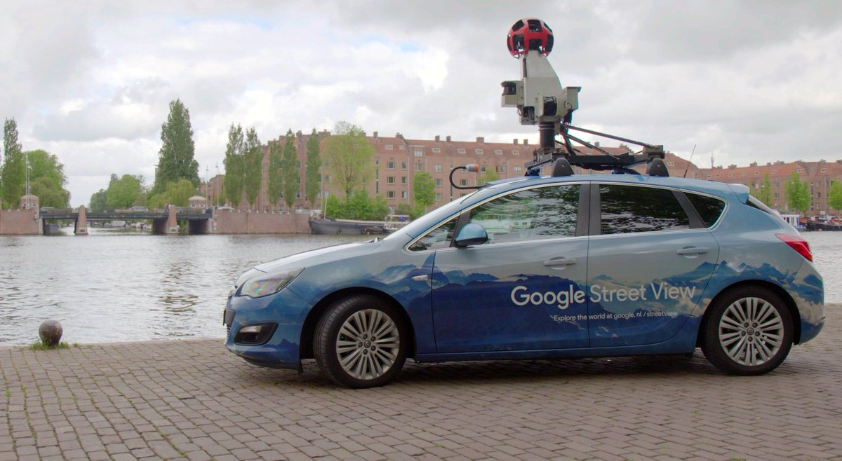 How we're working with the municipality of Amsterdam to gain insight into the city's air quality with #StreetView → http://goo.gle/2M2qjHl