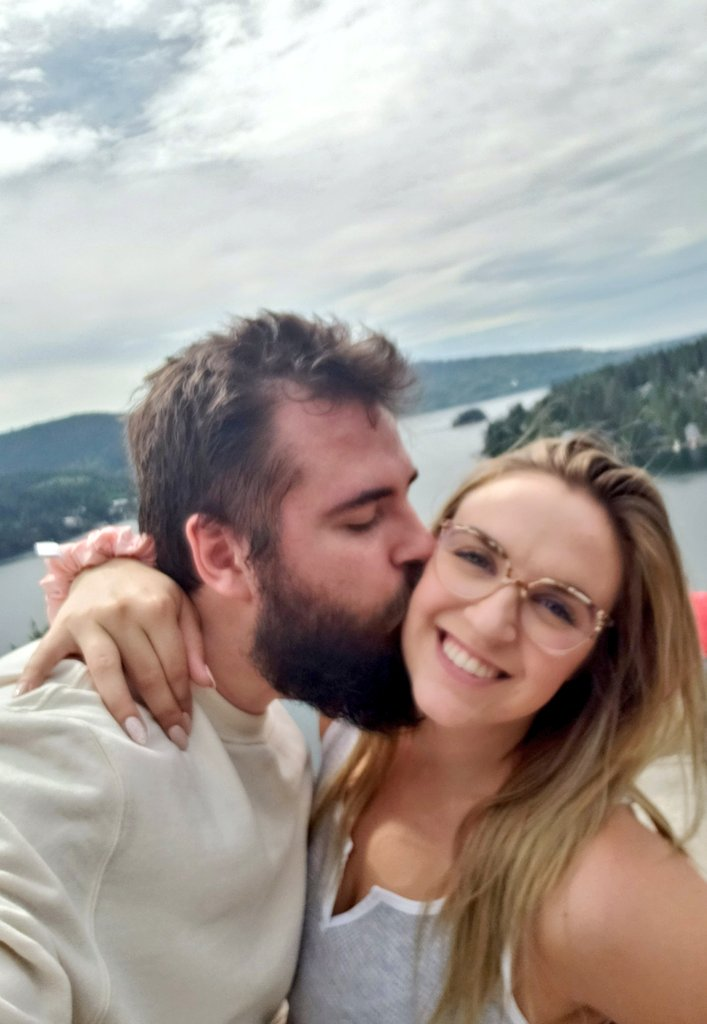 Just being hella cute during our hike, nbd.