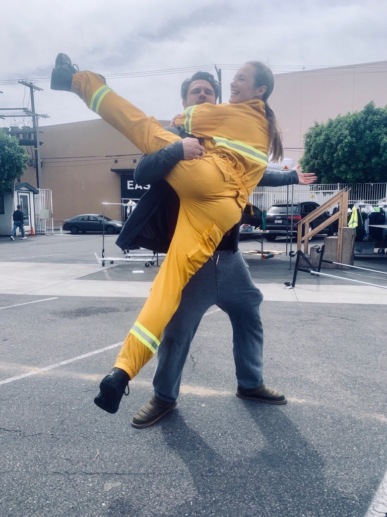Danielle Savre's photo on #Station19
