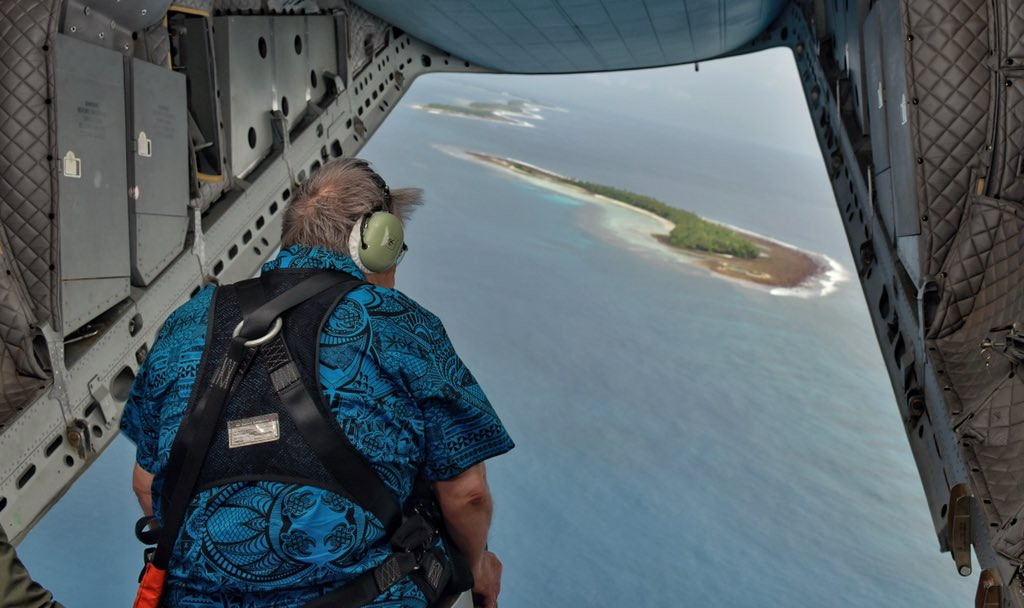 "António Guterres on Twitter: ""I'm in Tuvalu, on the extreme frontlines of  the global climate emergency. Rising seas threaten to drown this island  nation — a sign of what's in store for"