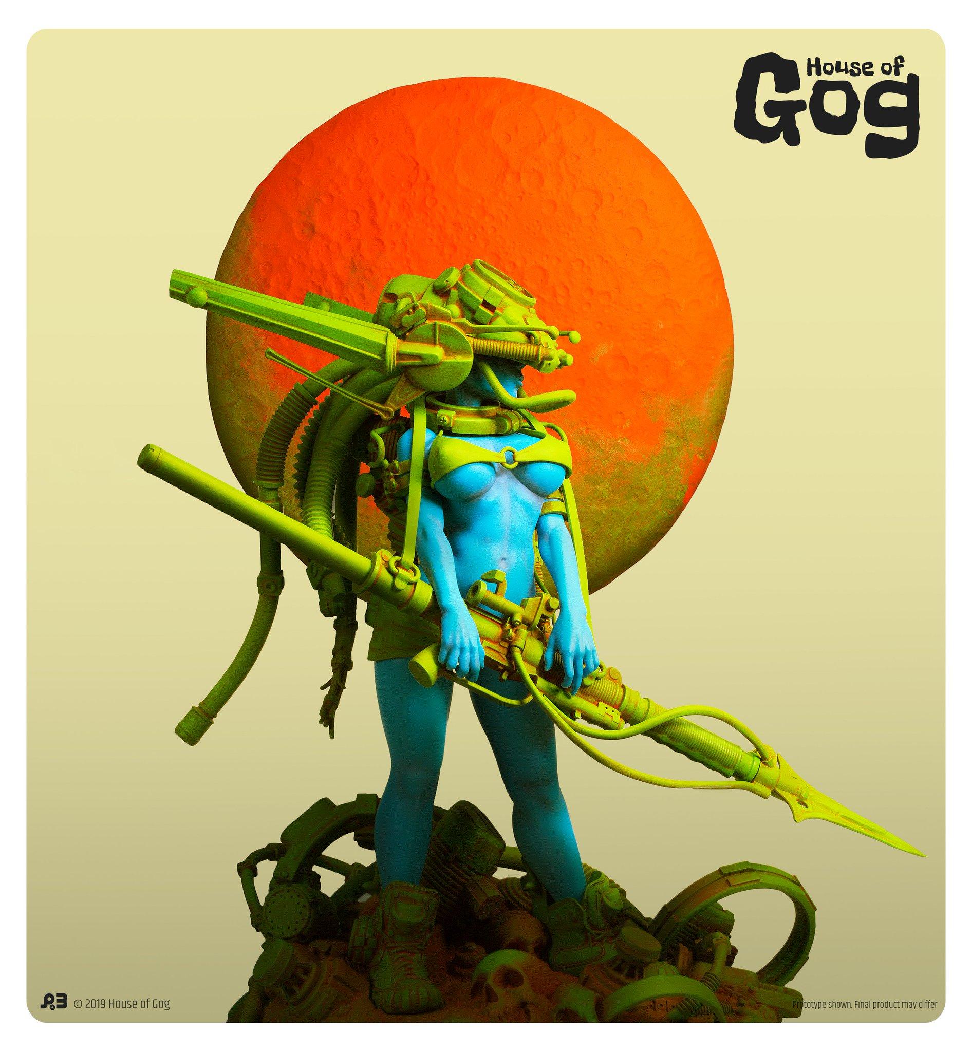 Bonjour, je suis P-A, le président et co-fondateur de HOUSE OF GOG - premium art statues D6uA-XmWkA4TZsL