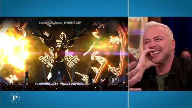 Gerard Joling verliefd op Litouwse deelnemer Songfestival 2019