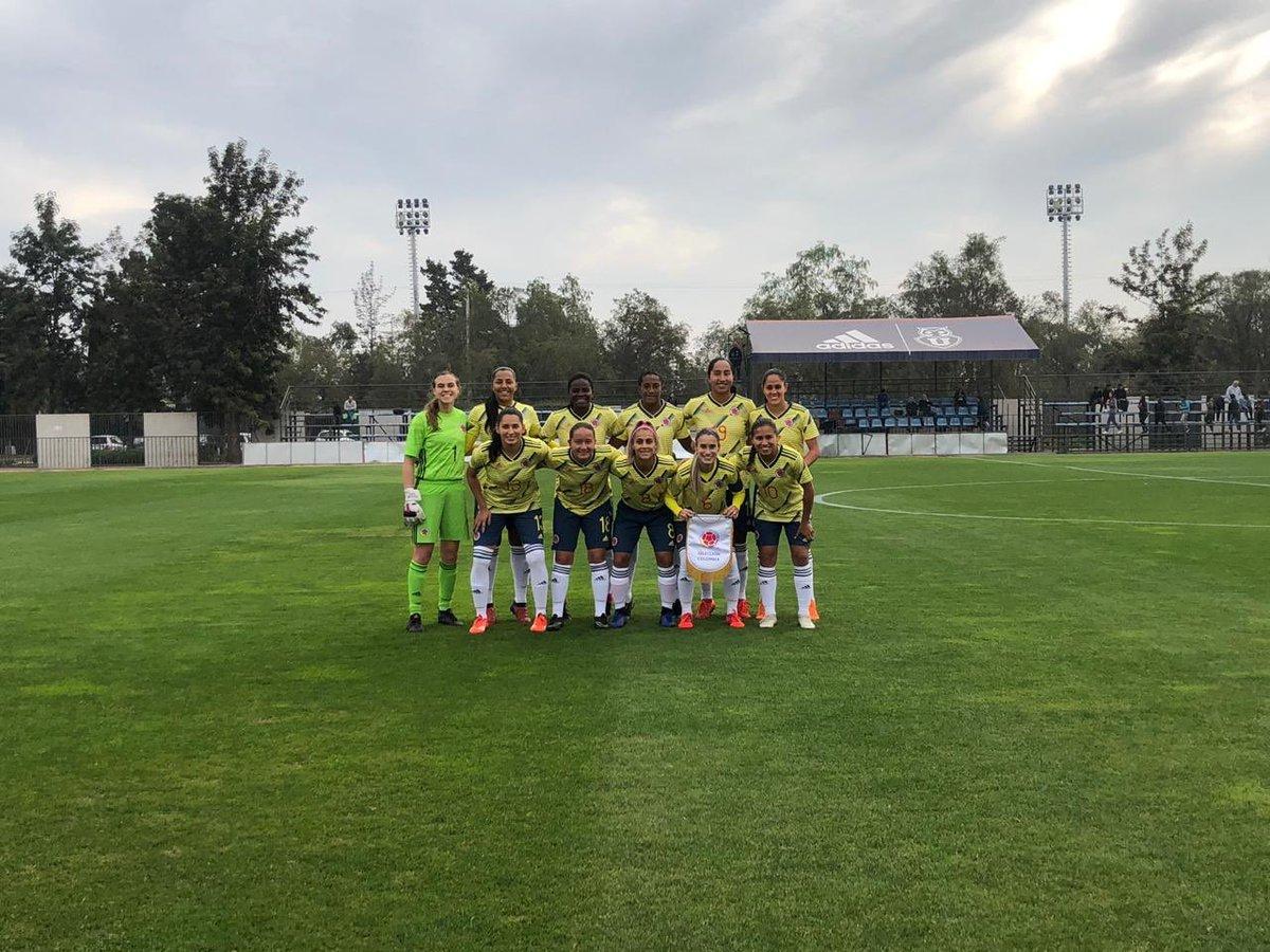 Selección Colombia Femenina venció a Chile en juego amistoso. https://bit.ly/30owQyS