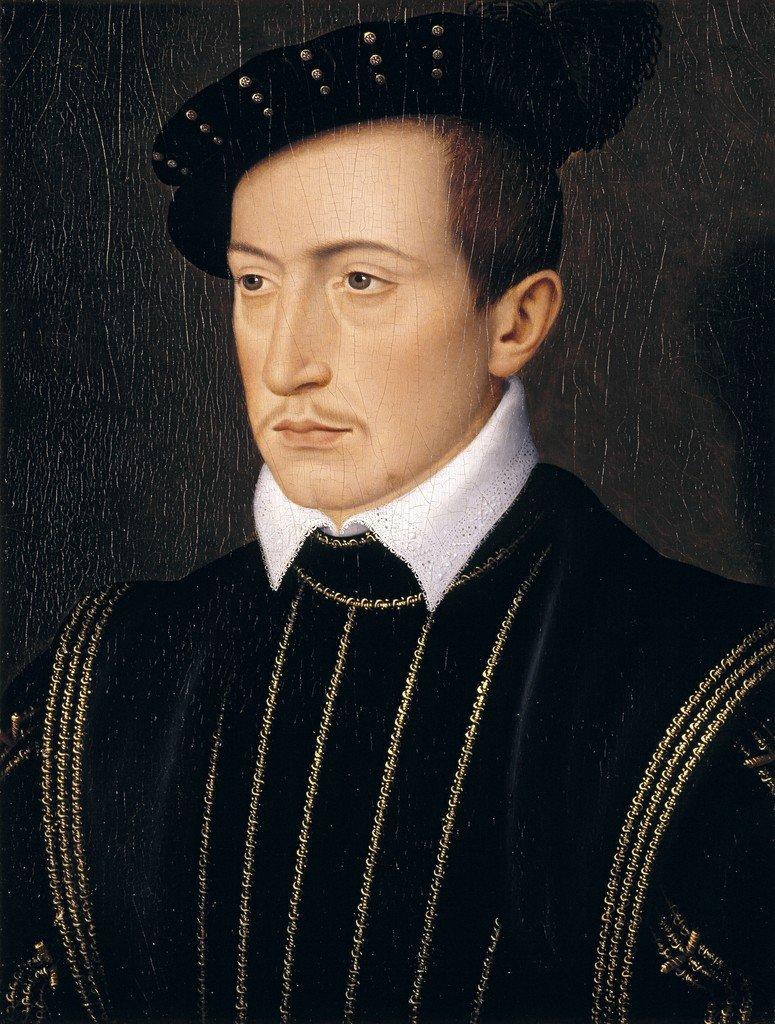 Guy XVII, Comte de Laval - François Clouet, c. 1540. (Timken Museum of Art, San Diego)