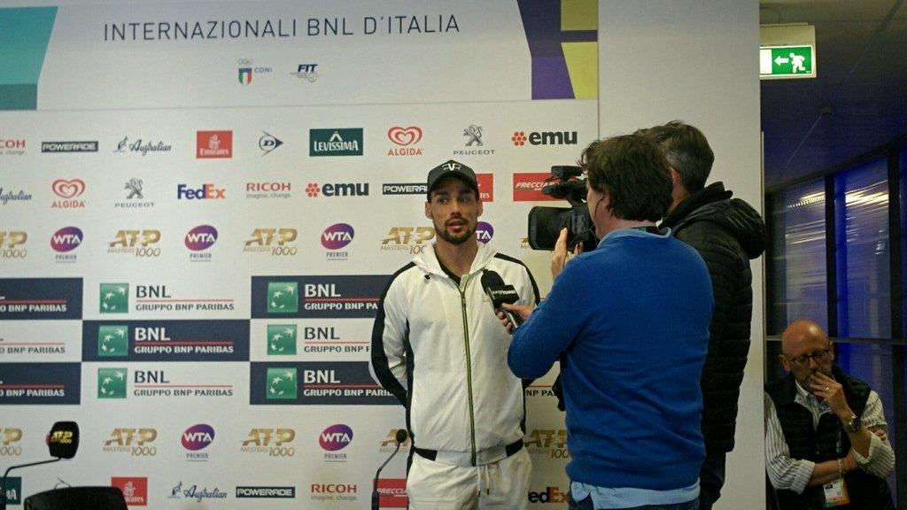 Iacopo Barlotti's photo on Fognini