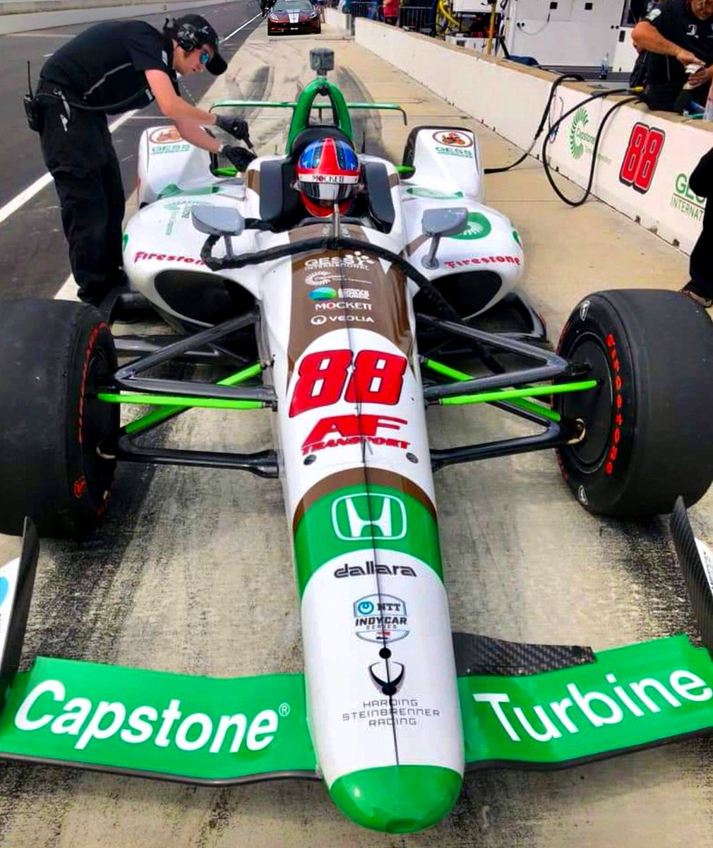.@CapstoneTurbine is proud to sponsor the #88 Honda-Powered Indy Car and young phenom @ColtonHerta with @GESSUS1 and @FollowHSRacing at the upcoming #Indy500. Raising environmental awareness of #biogas and #RNG. $CPST #ThisIsMay