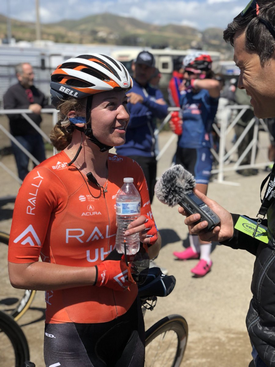 Great rides by @emmabeancx (7th) and @gavinmannion (12th) in the Ventura stage of the @AmgenTOC. #ReasonToRide