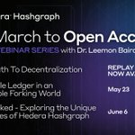 Image for the Tweet beginning: Join the @hashgraph March to