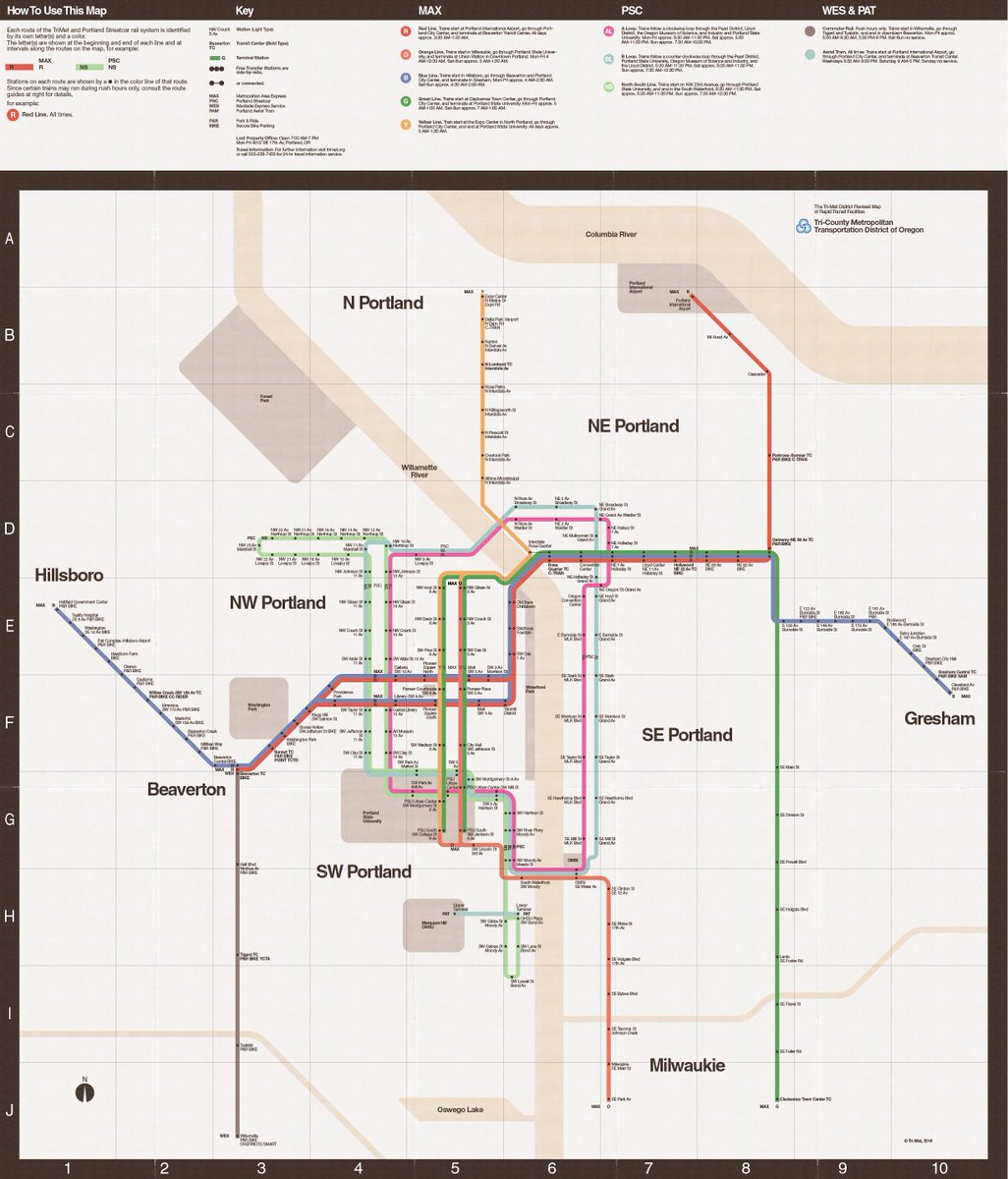 Massimo Vignelli 1972 Nyc Subway Map.Trimet On Twitter Our Tribute To One Of The Most Famous Transit