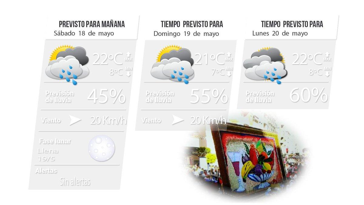 #PrevisiónFinDeSemana>> Nubosidad de evolución vespertina y riesgo de #chubascos y/o #tormentas, más probables hacia el arco E-SE comarcal. Te lo contamos hoy en TeleYecla Radio (08:35hrs y 13:25hrs) y TY1 TV (14:35hrs y 21:35hrs)Imagen: Fco. RipollInfo: Dani Beltrán