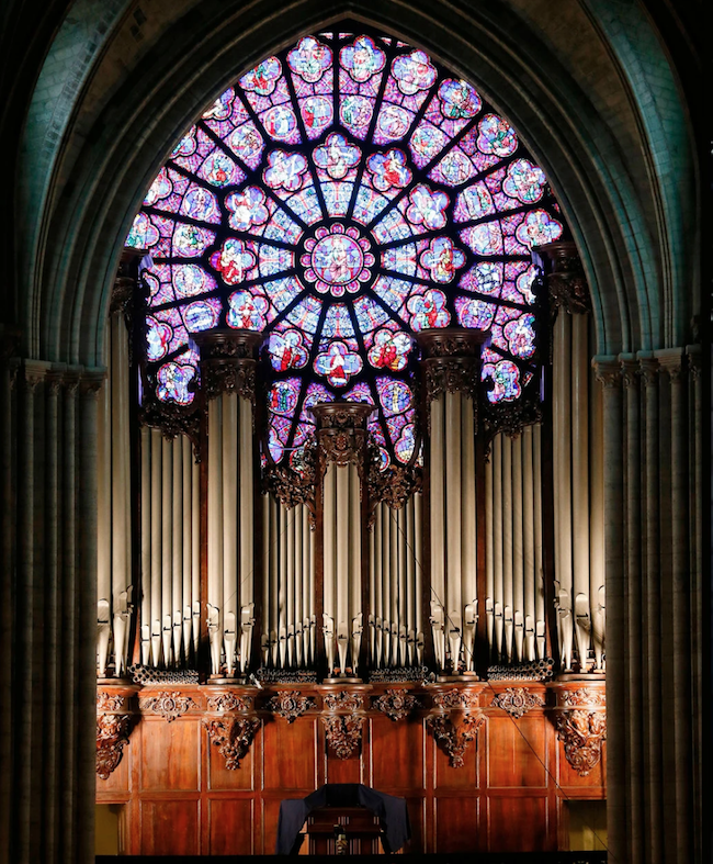 """The organ of Notre Dame-- spared by the fire but damaged by water-- will live again. """"In maybe three, four years, we can reopen the church and play again...""""  https://nyti.ms/30rbtx6 #notredame #organ #paris"""