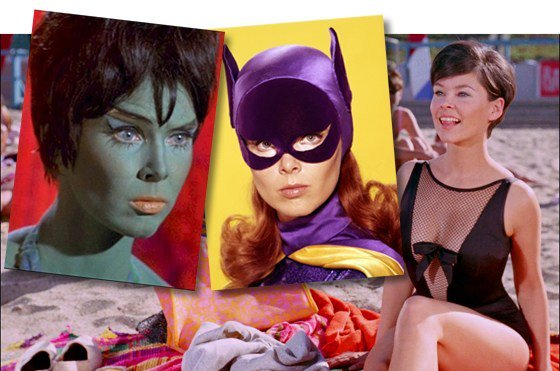 Happy birthday to the late Yvonne Craig, born this day 1937. RIP