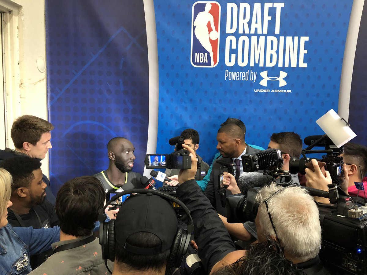 .@nbagleague #EliteCamp ✅ #NBACombine Powered by Under Armour ✅ @tackofall99 of @UCF_MBB‼️