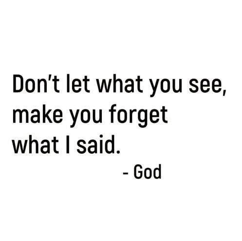 God First! Eyes on Him! 🙌🏻