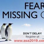 Image for the Tweet beginning: Will we break previous @ASA_NSC