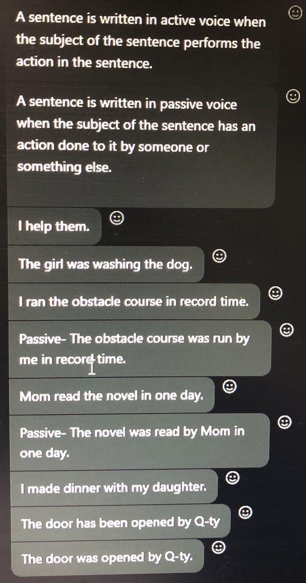 朝のオンライン英会話QQEnglishさん。 能動態と受動態についてレッスン。 留学行って少し文章を読むコツを掴んできました。鬼のクレイジーティーチャーにビシバシ鍛えられた成果が出てきております。 あとは継続。