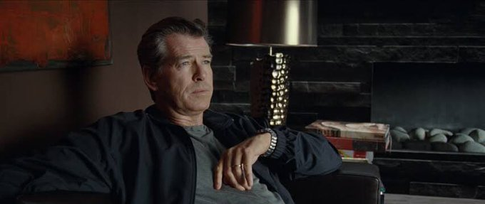 Happy birthday Pierce Brosnan. He was great in one of my favorite thrillers, The ghost writer.